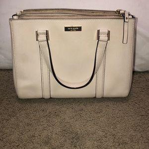 Cream Kate spade purse